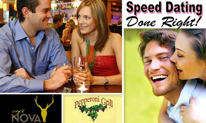 Groupon speed dating record