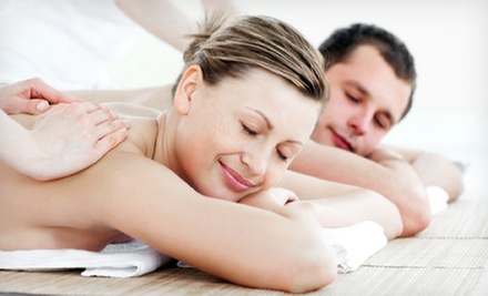 One 60-Minute Four-Handed or Couples Massage, or One 60-Minute Custom Massage at Cottage Spa (Up to 53% Off)