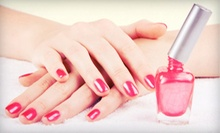 $19 for a Lavender Spa Manicure with Shellac Polish at Nails of Perfection at The Oasis Salon ($40 Value)