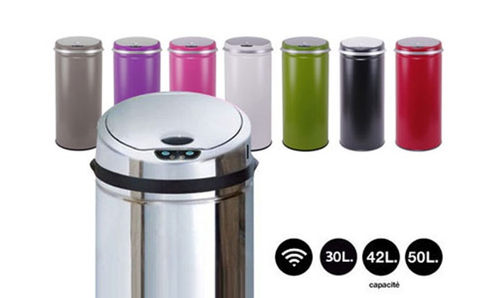 Groupon goods global gmbh deal du jour groupon - Poubelle inox 50l ...
