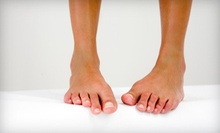 Three Laser Nail-Fungus-Removal Sessions for One or Both Feet at Hoosier Foot &amp; Ankle (Up to 79% Off)