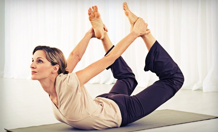One Month of Unlimited Classes or 10 Classes at Four Seasons Yoga (Up to 74% Off)