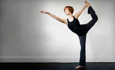 10 Classes or One Month of Unlimited Classes at Sisters Yoga (Up to 76% Off)