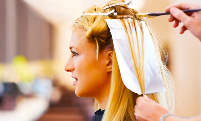 Prisca-Larissa Hair and Beauty - Aberdeen: Highlights With Cut and Blow-Dry for £24.95 at Prisca-Larissa (49% Off)