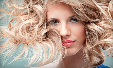 Deep-Conditioning Treatment and Haircuts with Optional Full Color or Full Highlights at Fantastic Sams (Up to 57% Off)