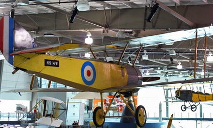 Museum Visit for Two or Four or Family or Family Plus Membership to Frontiers of Flight Museum (Up to 40% Off)