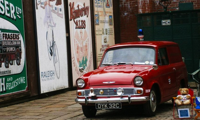 National Emergency Services Museum - Sheffield: Fire and Police Museum: Entry For Family of Four (£5.50) or Five (£7) (50% Off)