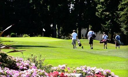Nine Holes of Golf for Two or Four with Pull Carts at Highlands Golf (Up to 53% Off)