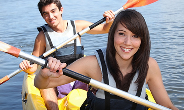 Chester Kayak Hire - Chester: Chester Kayak Hire: One-Hour Session For One (£11) or Two (£19) (Up to 67% Off)