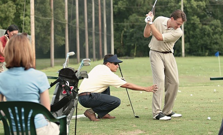 One-Hour Golf Lesson and Swing Analysis with Optional Follow-Up Lesson at David Stephens Golf (Up to 81% Off)