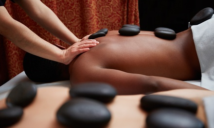 One Spa Back Facial with Optional Exfoliating Scrub and Hot-Stone Massage at Beauty Bar Spa (Up to 56% Off)