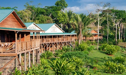 Groupon Deal: 3- or 4-Night Stay for Two with Daily Meal Plan and Airport Transfers at Dream Valley Jungle Lodge in Belize