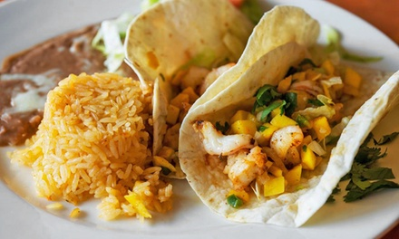 $12 for $20 Worth of Mexican Food at Ixtapa Mexican Grill and Cantina. Three Options Available.