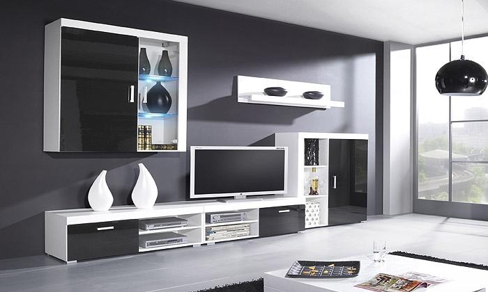 Comfort offers deal du jour groupon for Salon moderne complet