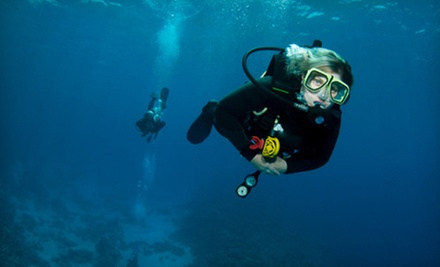 Discover Scuba, Resort Course, or Open Water Diver Certification at Below H2O Scuba Diving Academy (Up to 66% Off)