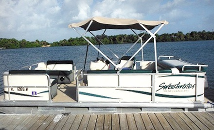 Full-Day Rental of 18-Foot Boat for Up to 6 or 18-Foot Pontoon for Up to 11 at Paradise Power Sports (Up to 74% Off)