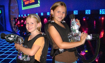 $16 for Four Games of Laser Tag at Lazer X FW ($32 Value)