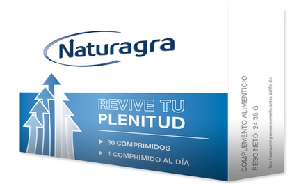 Potenciador sexual Naturagra 100% natural por 19,90€