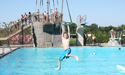 Water-Park Season Pass or Surf Simulator at Edina Aquatic Center (Up to 55% Off). Five Options Available.