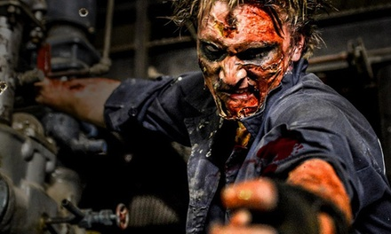 $25 for Two Passes to Zombie Apocalypse at Bane Haunted House on January 30 ($50 Value)