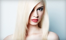 Haircut and Style with Optional All-Over Color or Partial Highlights at Judy's Shear Artistry (Up to 57% Off)