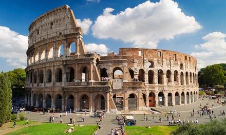 Supraflights — Roma: 3 noites para uma pessoa com pequeno-almoço, voos, taxas e tour pela cidade por 179€