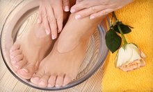 One, Three, or Five Ionic Foot-Detox Hydrotherapy Sessions with Chair Massages at Heaven Wellness Center (Up to 55% Off)