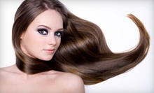 Haircut and Deep-Conditioning Treatment with Optional Partial Highlights at Salon Brio (Up to 72% Off)