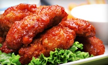 $10 for $20 Worth of Wings and American Pub Food at Flamin' Joe's on North Division
