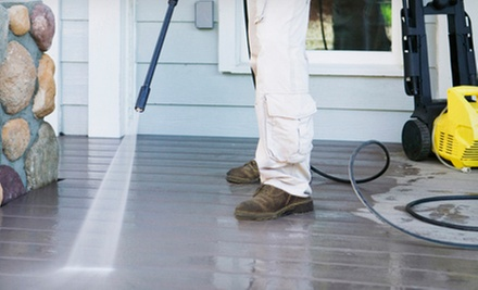 Power Washing for a Deck, Patio, Sidewalk, or Home Exterior from Jack's Painting Service, LLC (Up to 75% Off)