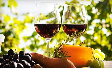 Wine Tasting for Two or Four with Souvenir Glasses at Charron Vineyards (Up to 52% Off)