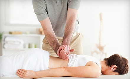 Chiropractic Exam with Consultation and One or Three 60-Minute Massages at Geist Chiropractic (Up to 93% Off)