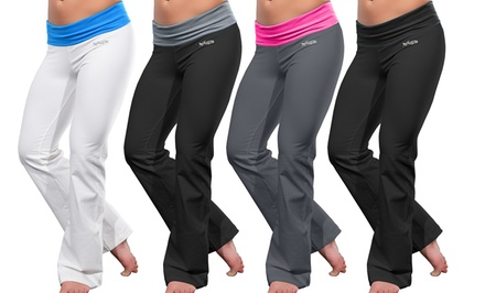 Rock & Luxe Slimming Boot Cut Yoga Pants