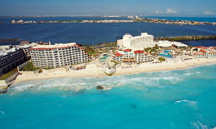 All Inclusive 4 Star Canc 250 N Resort With Airfare Groupon