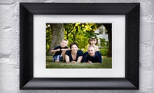 $49 for a One-Hour Family Photo Shoot with Framed Portrait ($400 Value)