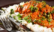 Indian Lunch Buffet for Two, or Four-Course Tasting Menu for Two or Four at Taste of India (Up to 54% Off)