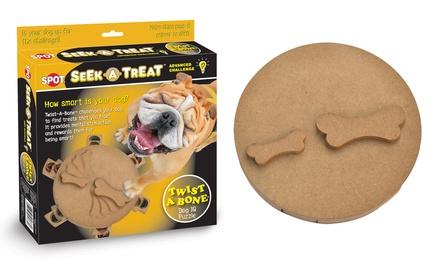 Seek-A-Treat Twist a Bone Pet Toy Puzzle