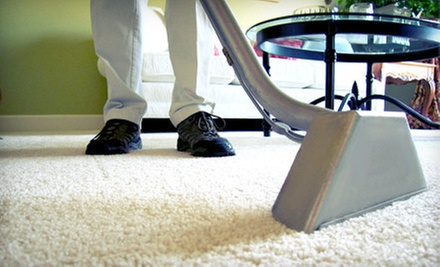 Shining for Hardwood or Laminate Floors or Carpet Cleaning from Sears Carpet & Upholstery Care (Up to 68% Off)