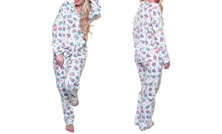 Gotta-Have-Cupcakes Women's Fleece Pajama Set