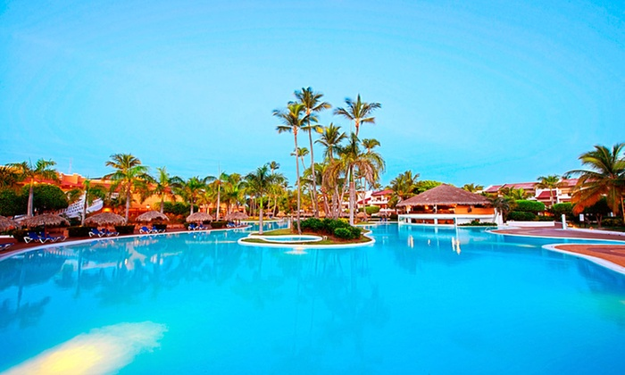 5 Night All Inclusive Punta Cana Vacation With Airfare