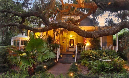 groupon daily deal - 2-Night Stay for Two at Tybee Island Inn in Tybee Island, GA