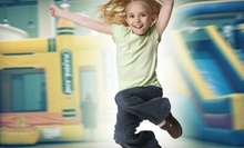 8 or 12 Visits or All-Day Bounce-House Play for 4 or 6 at Royal Jump! (Up to 62% Off)