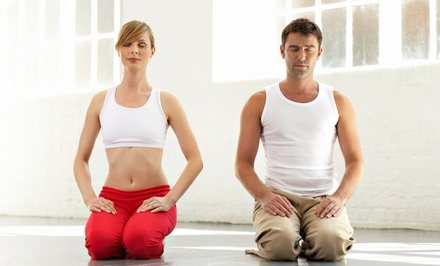 $20 for One Month of Unlimited Yoga Classes for One Couple at Inner Evolution Yoga ($200 Value)