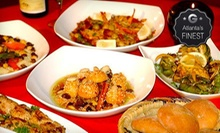 Five-Course Moroccan Meal for Two or Four at Imperial Fez (Up to 56% Off)