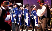 Three Musketeers Dinner Show for an Adult or Child at Pirate's Town (Up to 55% Off)