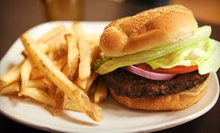 $10.99 for Two Burgers at W Burger Bar (Up to $21.98 Value)