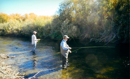 Semi-Private Fly-Casting Lesson or Private Fly-Casting Lesson with Flies at Fishermen's Spot (Up to 63% Off)