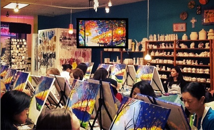 Adult BYOB Painting Class for One or Two at Sip & Stroke (52% Off)