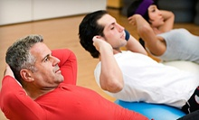 10 or 20 Boot-Camp Classes at GoodFit Fitness (Up to 69% Off)
