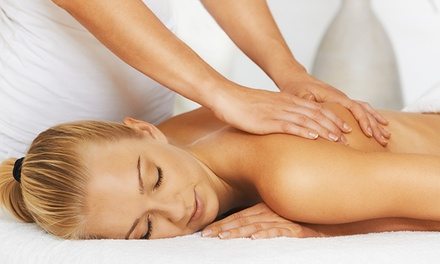 Massage, Two Massages and an Adjustment, or Five Yoga Classes at Back to Health Wellness Center (Up to 80% Off)